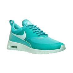 Women's Nike Air Max Thea Running Shoes ($90) ❤ liked on Polyvore featuring shoes, athletic shoes, nike footwear, nike, light weight shoes, athletic running shoes and genuine leather shoes