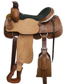 Circle S Roping Saddle - #6605