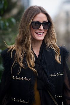 Obviously Olivia Palermo was bronde before it was cool. Hair Lights, Brunette To Blonde, Brown To Blonde, Going Blonde, Golden Blonde, Golden Brown, Light Brown Hair, Light Hair, Olivia Palermo Hair
