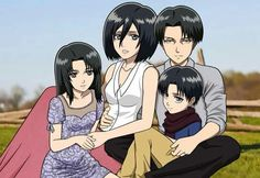 OMYGOODNESS PRECIOUS HEAVEN. LOOK HOW MATCH THEY ARE. GOD, ISAYAMA NEED TO SEE THIS