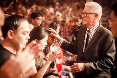 Bishop Dick Bernal prayed for the Cell Group Leaders of CHC. What a presence of the Lord!