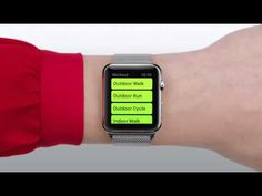 ▶ Apple Watch guided tour - Siri (2015) - YouTube