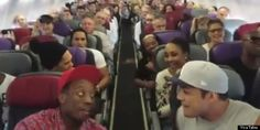 Lion King Cast Sings 'Circle of Life' On Plane For The Best In-Flight Performance Ever