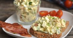 Avocado Egg Salad Recipe: A great avocado egg tart recipe, if you miss the mayonnaise, you can enrich it, but you can also have a. Vegetarian Lifestyle, Vegetarian Recipes, Cooking Recipes, Healthy Recipes, Healthy Deserts, Healthy Snacks, Healthy Eating, Hungarian Recipes, Sugar Free Recipes