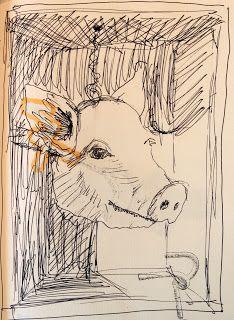 F.violante dessins cochon
