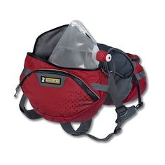 Ruffwear Palisades Pack, Small, Red Currant: Amazon.ca: Pet Supplies