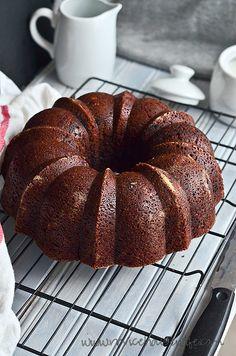 Vegan Chocolate Bundt Cake by Shumaila | The Novice Housewife