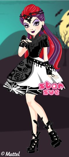 Ever After High Dragon Games Teenage Evil Queen Mira Shards Dress Up Game : http://www.starsue.net/game/Dragon-Games-Mira-Shards.html Have Fun! ♥