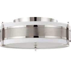 View the Nuvo Lighting 60/4447 Diesel 4 Light Flush Mount Indoor Ceiling Fixture - 24 Inches Wide at LightingDirect.com.