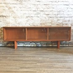 A Mid Century Teak Media Cabinet By Johannes Andersen. Early Perfect As A Media  Cabinet, Bookshelf Or Open Storage.
