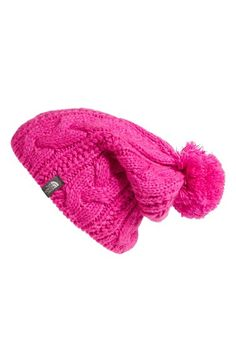 Free shipping and returns on The North Face 'Bigsby' Pompom Beanie at Nordstrom.com. Keep helmet hair under the most adorable of wraps when you come in off the slopes in a beanie stitched with classic, chunky cables from ultrasoft yarns.