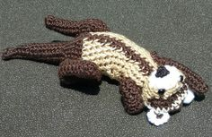 Hey, I found this really awesome Etsy listing at https://www.etsy.com/listing/281827920/ferret-amigurumi-laying-on-back