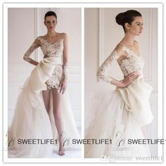 2015 Wedding Dresses Sheer Scoop Long Sleeves Lace Sheath Wedding Dresses Pleats Sash Tulle Court Train Garden Beach Bridal Gown 2015 Spring Wedding Dresses Under 500 Wedding Gown Designers From Sweetlife1, $141.67  Dhgate.Com