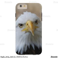 #Eagle_2015_0201 Tough #iPhone6PlusCase #JAMFotoTechno #Zazzle.com