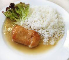 Denné menu Vranov | Kuracie prsia na spôsob saltim bocca, dusená ryža - reštaurácia Hotel Patriot*** #hotel #restaurant