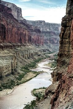 Colorado River And The East Rim Grand Canyon National Park. This photo, of the Colorado River and the East Rim, was taken from the Ancient Puebloan (Anasazi) Graineries above the mouth of Nankoweep Creek, Grand Canyon National Park, Arizona. Nature, outdoor, wildlife and landscape scenes photographed by NaturesPix