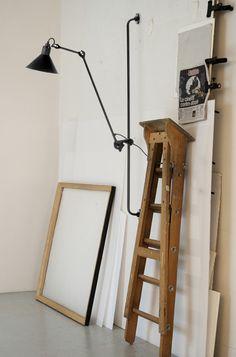 210 Wall Lamp from Lampe Gras. Design by Bernard-Albin Gras. #lighting #design