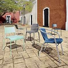 CB2 stackable outdoor chairs $69