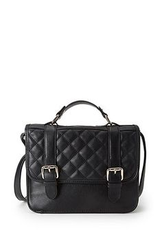 This crossbody bag from forever 21 costs $24.80 and is a great way to round off the look!