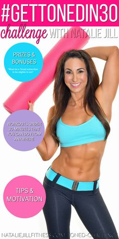 cde83ec7f7 30 days to a TONED YOU! Are you up for the challenge  Comment below