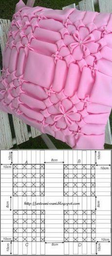 Подушки в точку, проложенная 3 - творения Salvina
