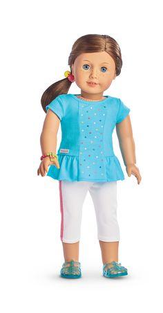 Atuendo arcoiris para tu meñeca y el carro de helado