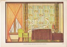 43-art-deco-bedroom.jpg (1000×708) Decorative Draperies & Upholstery by Edward Thorne Descriptive text by Henry W. Frohne Publisher: Garden City Publishing Co., Inc., New York ---1937---