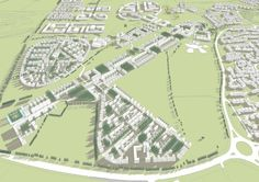 Greater Beaulieu Park is a residential development in Chelmsford which will create a collection of unique and distinctive neighbourhoods. Master Plan, Urban Design, Aerial View, The Neighbourhood, How To Plan, Park, Projects, Log Projects, The Neighborhood
