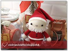crochet tutorial for santa claus ♥