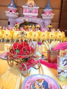 Beauty and the Beast Birthday Party Ideas | Photo 3 of 60 | Catch My Party