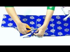 Kameez Cutting Easy Method Step by Step Textile Patterns, Clothing Patterns, Sewing Patterns, Sewing Tutorials, Sewing Crafts, Sewing Blouses, Anarkali Gown, Dress Cuts, Cut Shirts