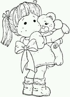 Princes & Princesses 2012 – Teddy Love Source by Nimpha Coloring Book Pages, Coloring Sheets, Black And White Drawing, Copics, Digital Stamps, Colorful Pictures, Card Making, Sketches, Drawings