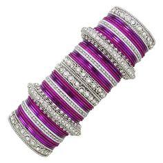 Banithani Indian Wedding Bangle Set Bollywood Bracelet Jewelry Gift For Her Hand Jewelry, Jewelry Gifts, Jewelry Bracelets, Jewellery, Indian Bangles, Thread Bangles, Thing 1, Bollywood Wedding, Bangle Set