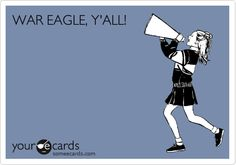 WAR EAGLE, Y'ALL!