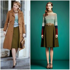 Myroyals &hollywood fashi̇on: blake lively in gucci – on the set of 'age of adaline' Vintage Outfits, Vintage Dresses, Vintage Fashion, Hollywood Fashion, Hollywood Actresses, Für Immer Adaline, Age Of Adaline, Beautiful Outfits, Cute Outfits