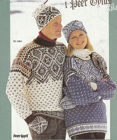 Ravelry: PG 1861 Sweater by Sandnes Design Knitting Paterns, Fair Isle Knitting Patterns, Knitting Stitches, Hand Knitting, Nordic Sweater, Ski Sweater, Viking Pattern, Cool Sweaters, Clothing Patterns