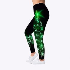 190b36bad36acf Children Cheers - Beauty Leggings in 2018 | Christmas Leggings ...