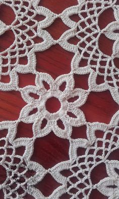 Items similar to White flower motif small square crochet la Crochet Bikini Pattern, Crochet Motif, Crochet Doilies, Crochet Geek, Crochet Flowers, Crochet Lace, Thread Crochet, Love Crochet, Diy Crochet Gifts