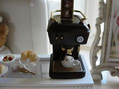 For my miniature coffee shop