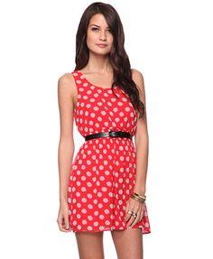 Forever 21 Women's Polka Dot Dress:...     $14.50