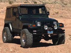 Black Jeep, Jeep Suv, Jeep Wrangler Tj, Monster Trucks, Rubicon, Lifted Trucks, 4x4, Classic Cars, Motorcycles