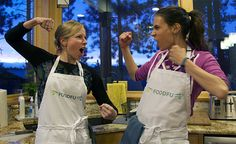 Game night idea - have a cooking competition with friends. #foodfight #foodie #gamenight #cooking #couples #games