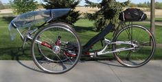 Faired ICE trike w/700's all around
