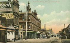 Brunswick Street, Fitzroy looking south in 1906