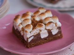Spicy Smoky S'mores Bars Recipe : Anne Thornton : Food Network