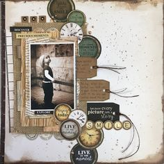 Kaisercraft Story Book - ink. paper. cloth. life.: Paper Flourish Kit Club DT - Mar 2016