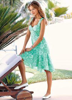 #Pastel #Floral #Sun_Dress
