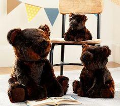 Brown Bear Faux Fur Plush Collection #pbkids