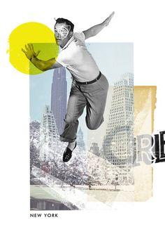 :: New York - Art Print by  Lewis Mclean ::