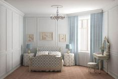 Bedroom in pastel colours (e) Check more at https://hdinterior.info/?p=100